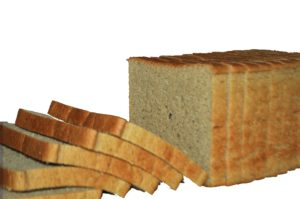 slice bread with no background